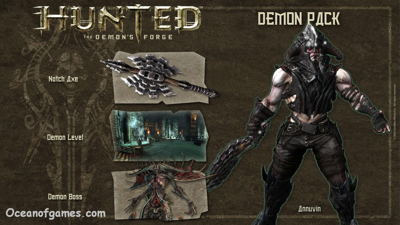 Hunted The demon's Forge  Free Download